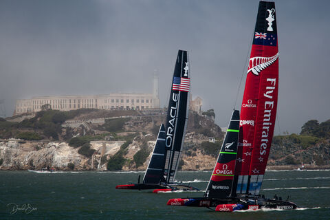 Sailing - America's Cup