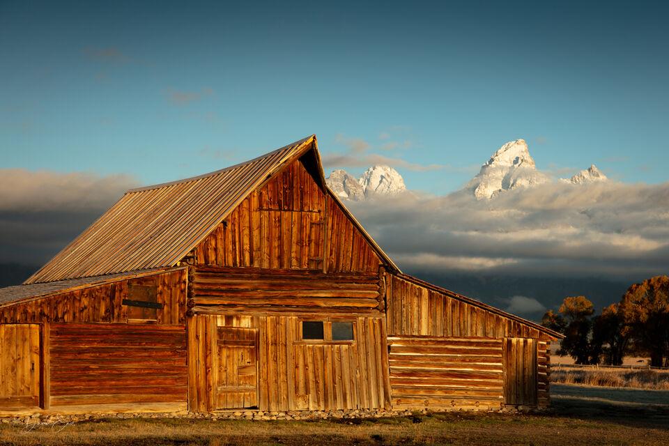 Mormon Barn, Grand Teton National Park print